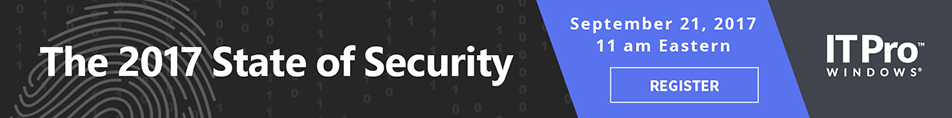 The 2017 State of Security